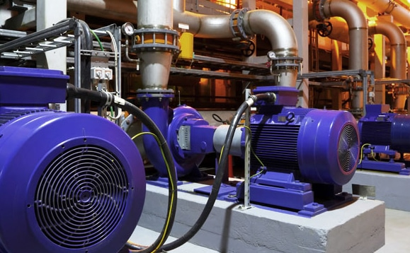 overheat detection system installed to the electrical motors